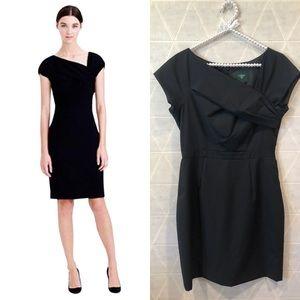 J. Crew Black Asymmetric Shift Dress 4
